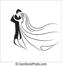logotype., bryllup