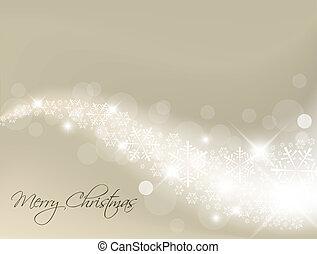 lys, abstrakt, sølv, baggrund, jul
