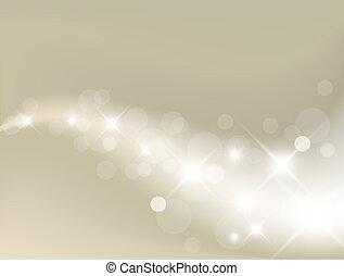 lys, baggrund, sølv, abstrakt