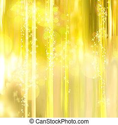 lys, baggrund, stjerner, twinkly