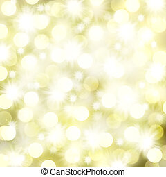 lys, stjerner, jul, baggrund