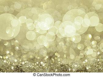 lys, twinkly, sølv, stjerner