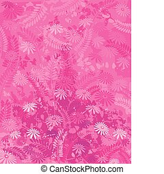 lyserød, natur