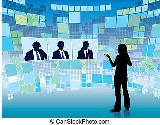 møde, virtuelle