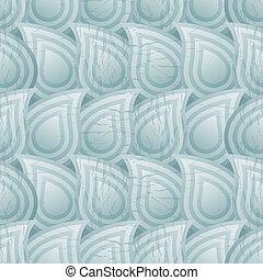 mønster, nedgange, seamless, væske