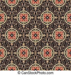 mønster, orientalsk