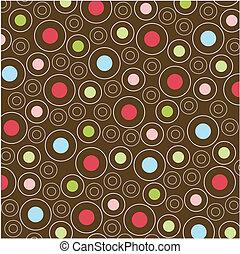 mønstre, seamless, tekstur, fabric
