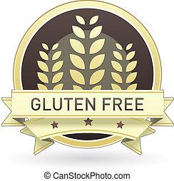mad, gluten, fri, etikette