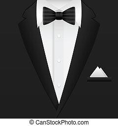 mand, baggrund, tøjsæt