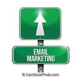 markedsføring, konstruktion, email, illustration, tegn
