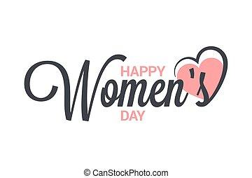 marts, vinhøst, konstruktion, baggrund, 8, hvid, womens, lettering., dag
