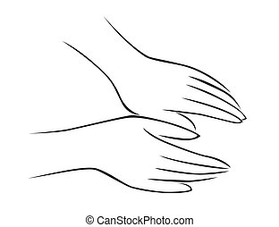 massage, hånd