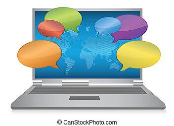 medier, begreb, internet, sociale