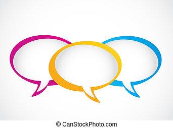 medier, bobler, sociale, tale, gruppe