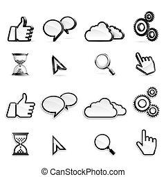 medier, iconerne