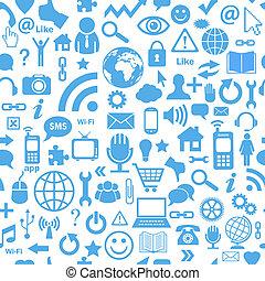medier, seamless, sociale
