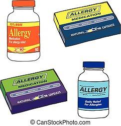 medikament, smerte, syg, få, flaske, hvornår, tilbage, smert, arbejde, garden, du, eller