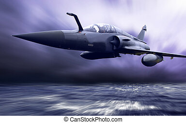 militær, airplan, hastighed