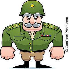 militær, general