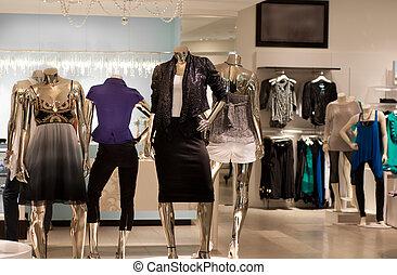 mode, butik, retail