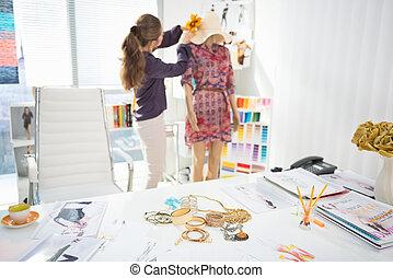 mode, klædningsstykke, tilbehør, designeren, closeup, baggrund, tabel, dekorer