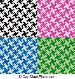 monochrome, twirl, mønster
