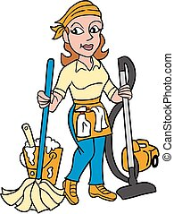 mopp, og, vacuming, vector-maid