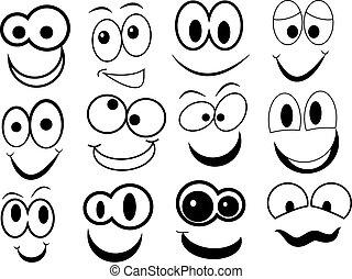 morsom, cartoon, zeseed