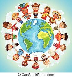 multicultural, karakter