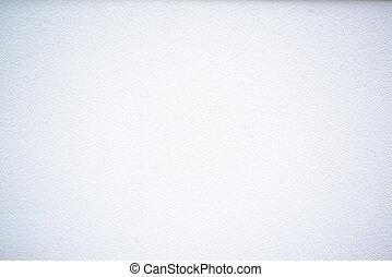 mur, hvid