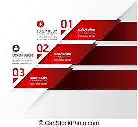 nummererede, blive, grafik, bruge, opsætning, moderne, linjer, horisontale, /, website, bannere, vektor, konstruktion, dåse, skabelon, infographics, cutout, eller