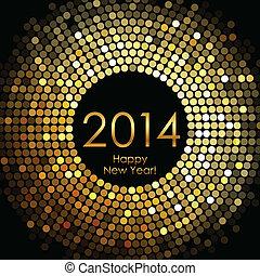 nye, glade, 2014, år
