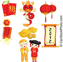 nye, kinesisk, år