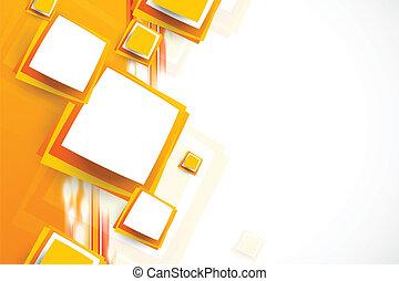 orange baggrund