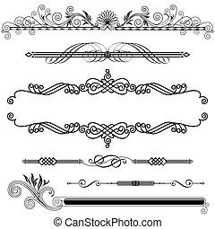ornamental, horisontale