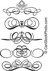 ornamental, prydelser