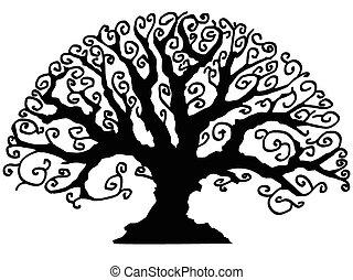ornamental, træ
