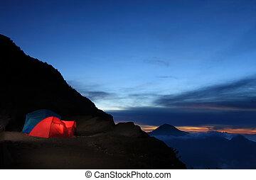 outdoor eventyr, camping
