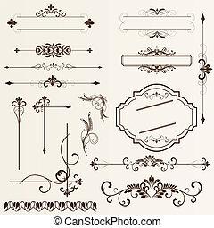 pa., formgiv elementer, calligraphic