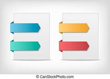 page., indikationer, etiketter, udkant, stickers, eller