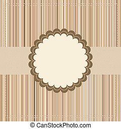 pakke, vinhøst, eps, 8, eller, card, design.