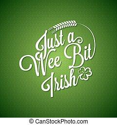 patrick, irsk, dag, baggrund, vinhøst