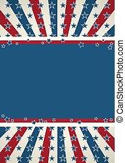patriotiske, baggrund, flag, amerikaner