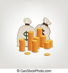 penge, komposition