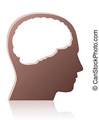 person, symbol, anføreren, brainless