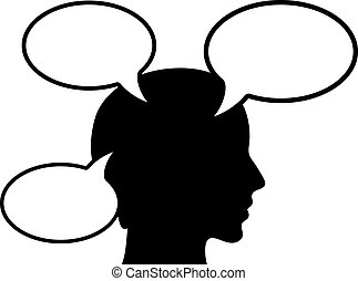 person, tænkning