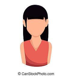 pige, kvinde, avatar