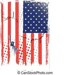 plakat, amerika