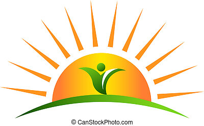 plante, solopgang