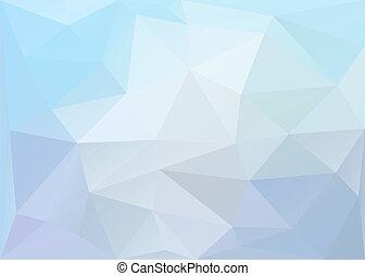 polygonal, baggrund., vektor, eps10.